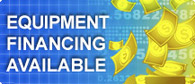 Equipment Financing Available